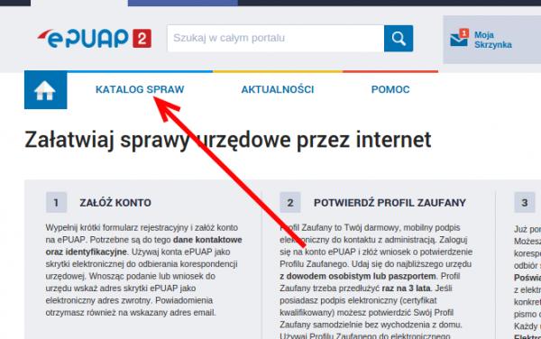 Katalog spraw ePUAP2