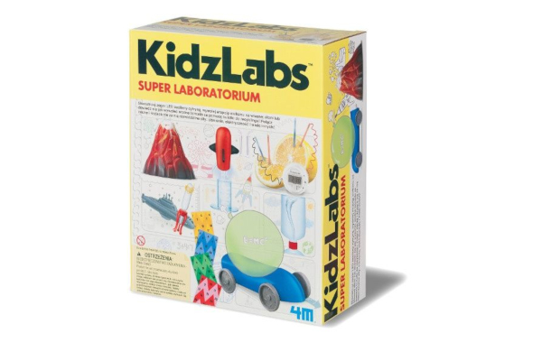 Prezent dla ośmiolatka. Zestaw do eksperymentów Zabawki Naukowe