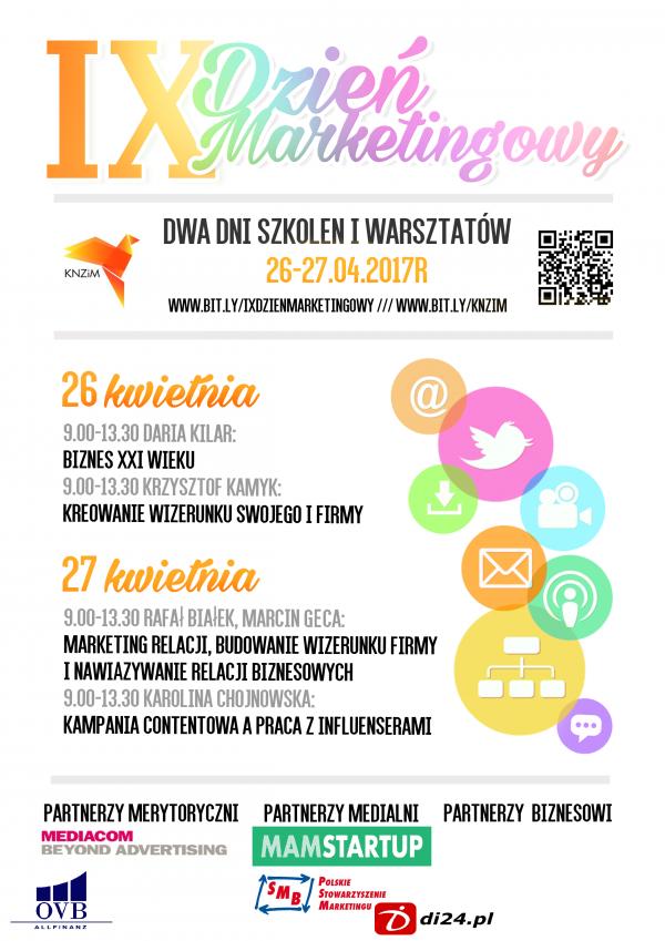 IX Dzień Marketingowy na UMCS