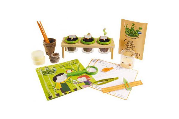 Prezent dla siedmiolatki. Laboratorium zieleni