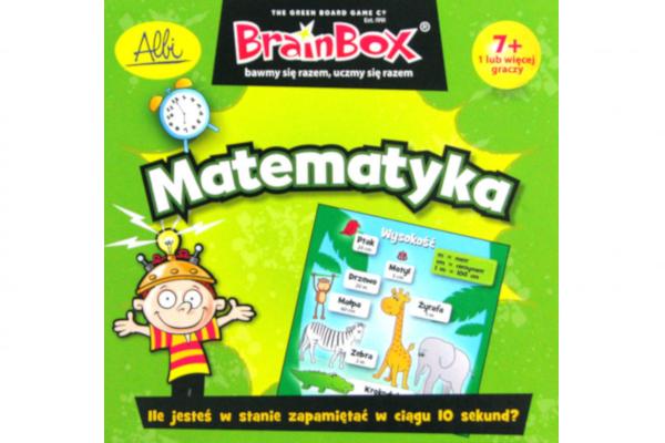 Prezent dla ośmiolatki. Gra BrainBox Matematyka