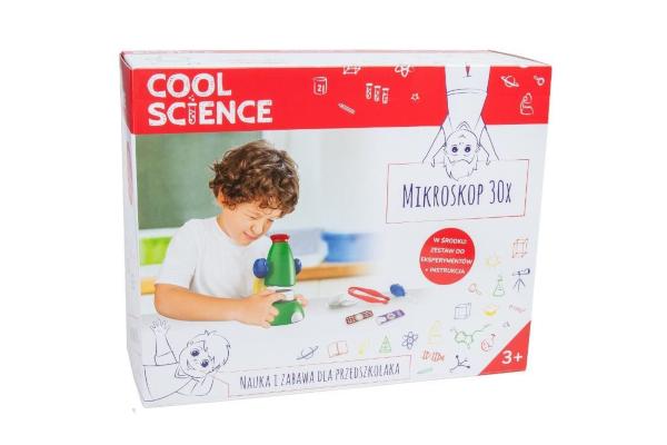 Prezent dla pięciolatki. Mikroskop