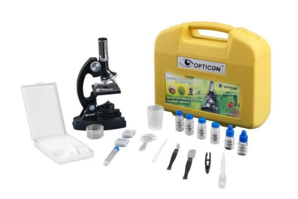 Prezent dla dziewięciolatki. Mikroskop Opticon
