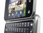 Motorola Backflip z rozłożoną klawiaturą