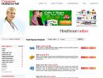 Strona reklamowana w spamie dotyczącym świńskiej grypy