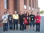 Katalończycy podczas Wikimanii z Jimmym Walesem
