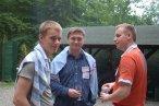 (od lewej) Wiktor Schmidt, Krzysztof Kowalczyk, Tomasz Kolinko