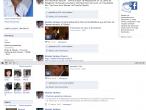 Profil Sarkozy'ego w serwisie Facebook