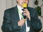 Dariusz Przybylski podczas prezentacji nt. zastosowania open source w gminie Goleniów
