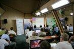 I dzień Konwentu, na zdjęciu p. Artur Gusta z UM Nowa Sól podczas prezentacji