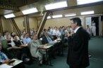 I dzień Konwentu, na zdjęciu p. Wojsyk z MSWiA podczas prezentacji