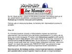 Joe Monster - informacja o włamaniu