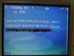 Przykładowa wiadomość otrzymana w ramach usługi prenumeraty (2,46 PLN za SMS)