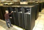 Don Grice z IBM przy komputerze Roadrunner