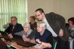 Zajęcia podczas Akademii e-Seniora