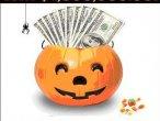 Przykład halloweenowego spamu