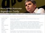 Fragment strony Bogusława Ziętka