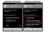 Różne wymagania aplikacji w Androidzie