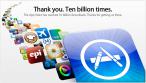 Apple dziękuje swoim użytkownikom za 10 mld pobrań