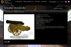 Armatka wiwatówka - model 3D
