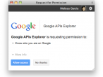 Autoryzacja dostępu do Google+