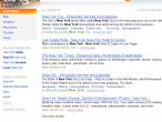Wyniki wyszukiwania wraz z lewym panelem w wersji dla USA