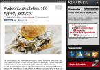 Blog Kominka - blogera Burger Kinga