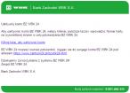 Treść fałszywego e-maila do klientów BZ WBK 24