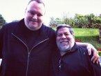 Kim Dotcom i Steve Wozniak na wspólnym zdjęciu