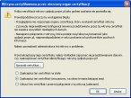 ilustracja nr 2 - próba połączenia ze stroną PWPW: Firefox