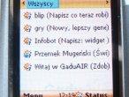 Mobilne Gadu-Gadu w sieci GaduAIR