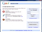 Gmail uruchomiony w Prism