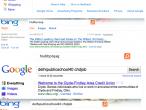 Porównanie bezsensownych fraz w Google Bing
