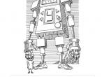 Google Doodle upamiętniające wydanie Cyberiady S. Lema