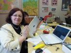 iPad w rękach nauczycieli z gimanazjum Leonarda Piwoni