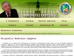 Fragment strony Andrzeja Leppera