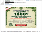 Spam zawierający dane adresowe odbiorcy (udostępniony przez czytelnika DI)