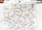 Mapa wkurzenia, czyli co najbardziej denerwuje internautów w swoich miastach