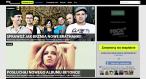 Strona główna serwisu MySpace