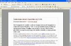Nadkreślenie w OpenOffice.org 3.1 PL - Writer (edytor tekstu)