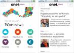 Aplikacja OnetNews na urządzenia mobilne Apple