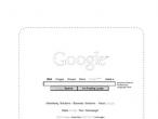 Opatentowana przez Google kompozycja strony głównej wyszukiwarki
