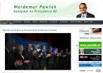Fragment strony Waldemara Pawlaka