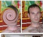 Odtworzone zdjęcie Christophera Neila oraz jego paszport.