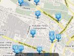 Jedz i Pij! pozwala na lokalizację restauracji w wyznaczonym miejscu na mapie