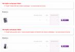 Sklep Play - niedostępne telefony wymienione przez Czytelnika DI