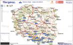 Internetowa mapa utrudnień drogowych