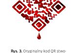 Kod QR stworzony na potrzeby kampanii reklamowej serialu True Blood