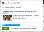 Dzielenie się wiadomością w Google+