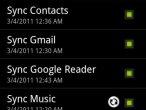 Synchronizacja muzyki w Androidzie